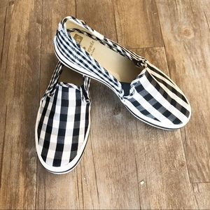 Keds Kate Spade Gingham Slip on Shoes Sneaker